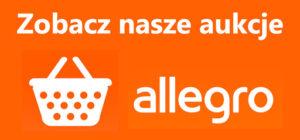 Sprawdź nasze aukcje na portalu Allegro